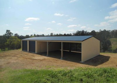 Sheds With Overhang Eaves - Lockyer Sheds