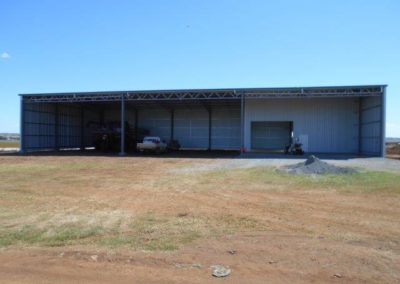 U Beam Sheds - Lockyer Sheds Commercial